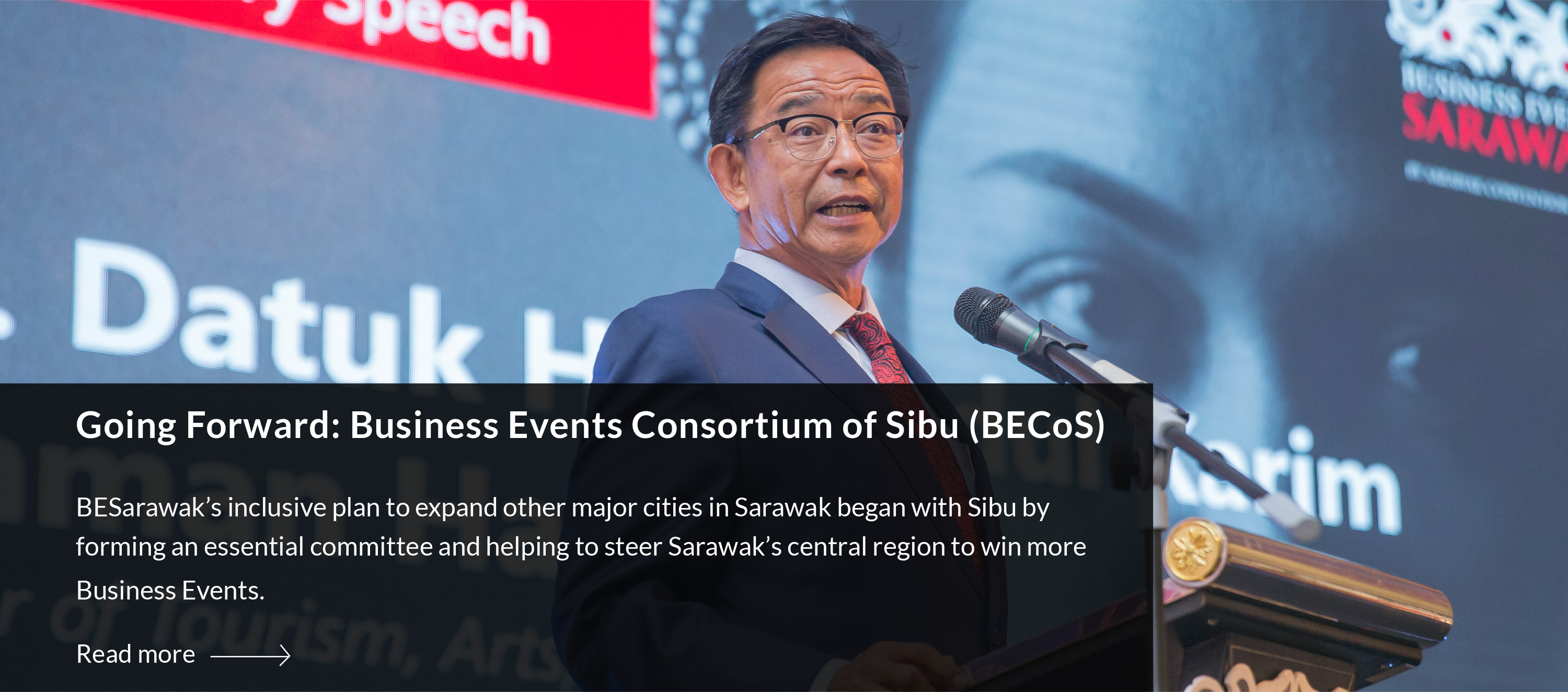 Going Forward: Business Events Consortium of Sibu (BECoS)