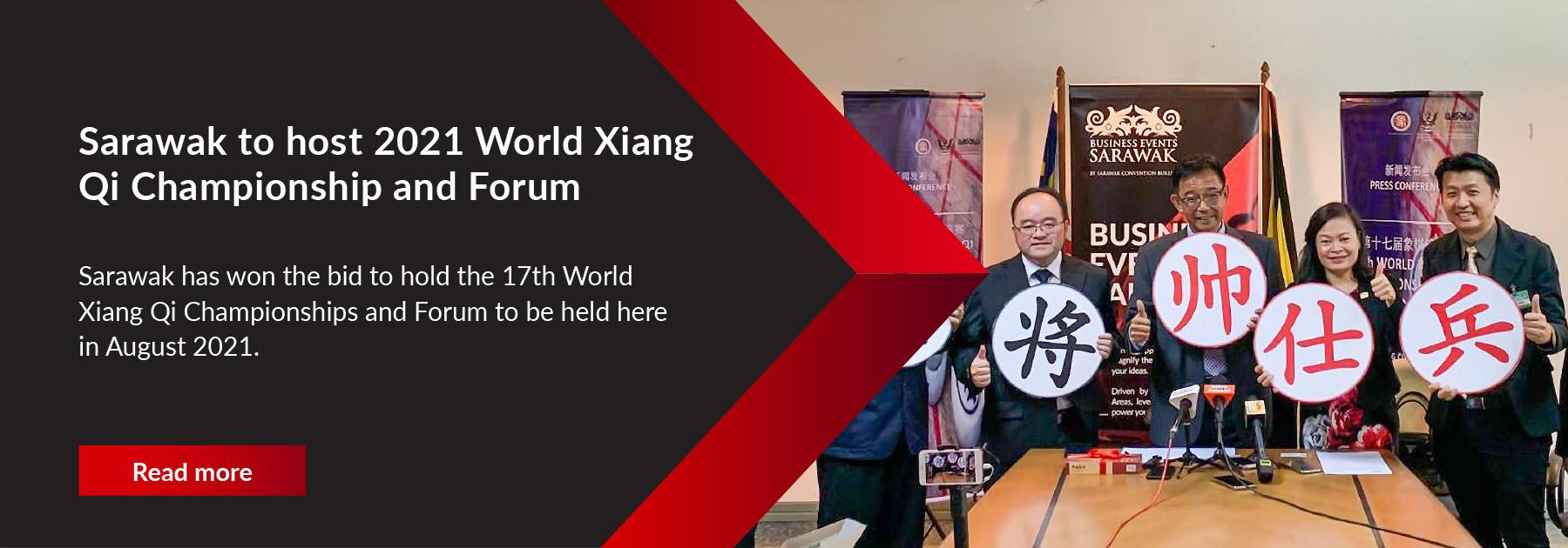 Sarawak to host 2021 World Xiang Qi Championship and Forum