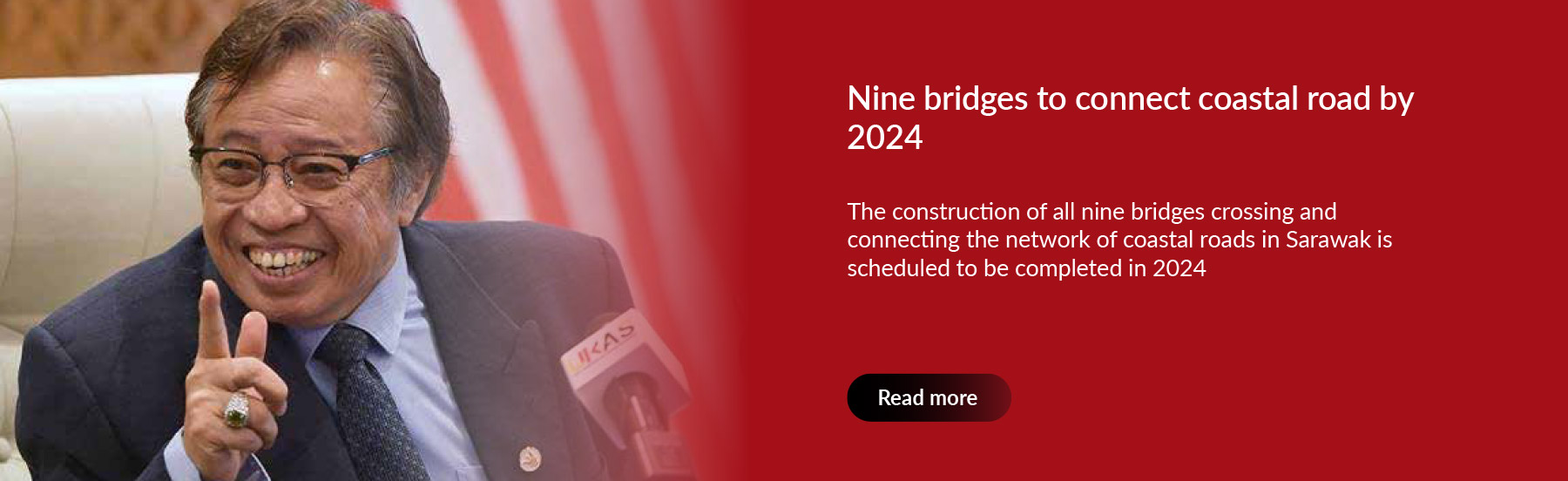 Nine bridges to connect coastal road by 2024