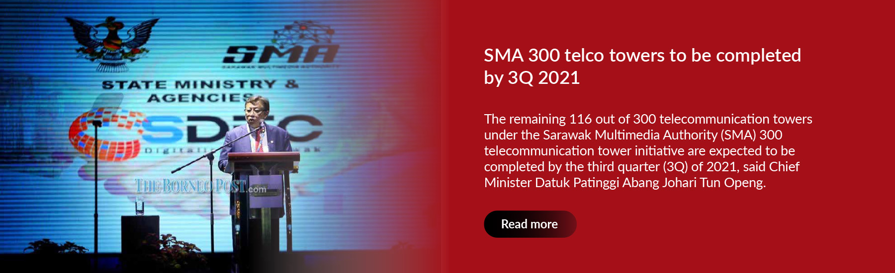 SMA 300 telco towers to be completed by 3Q 2021