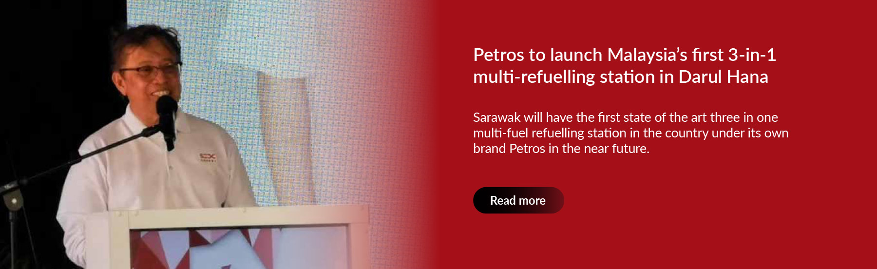 Petros to launch Malaysia's first 3-in-1 multi-refuelling station in Darul Hana
