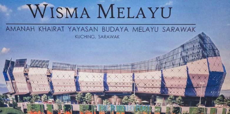 Construction of new Wisma Melayu Sarawak to begin next year