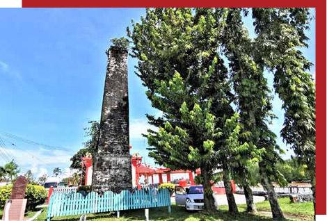 Sago chimney — a historical icon