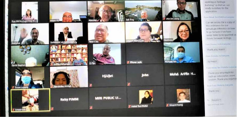 Virtual forum on Miri's heritage sites