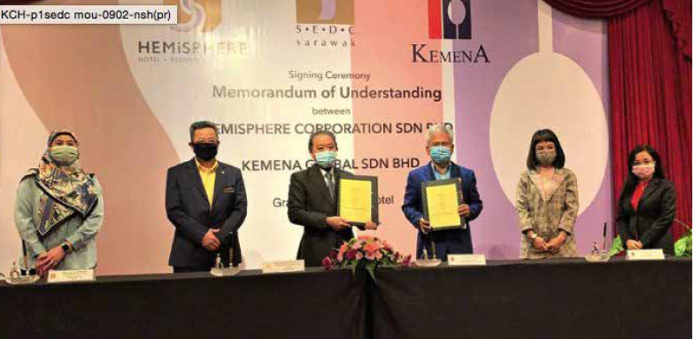 SEDC subsidiary signs MoU with Kemena Global
