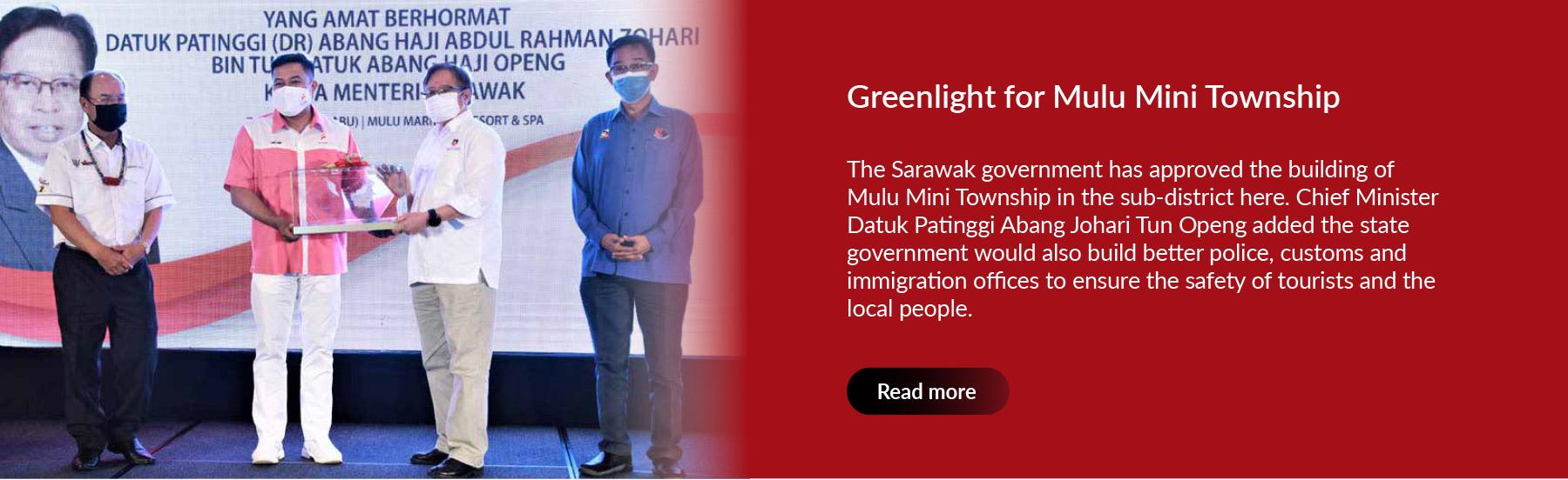 Greenlight for Mulu Mini Township