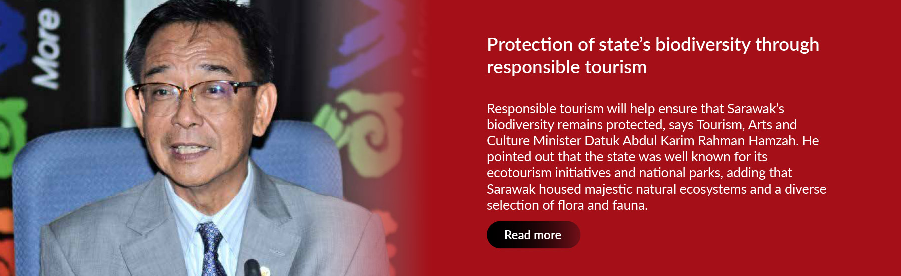 Protection of state's biodiversity through responsible tourism