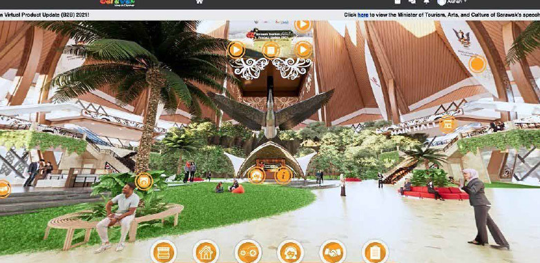 Tourism board hosts virtual update of products