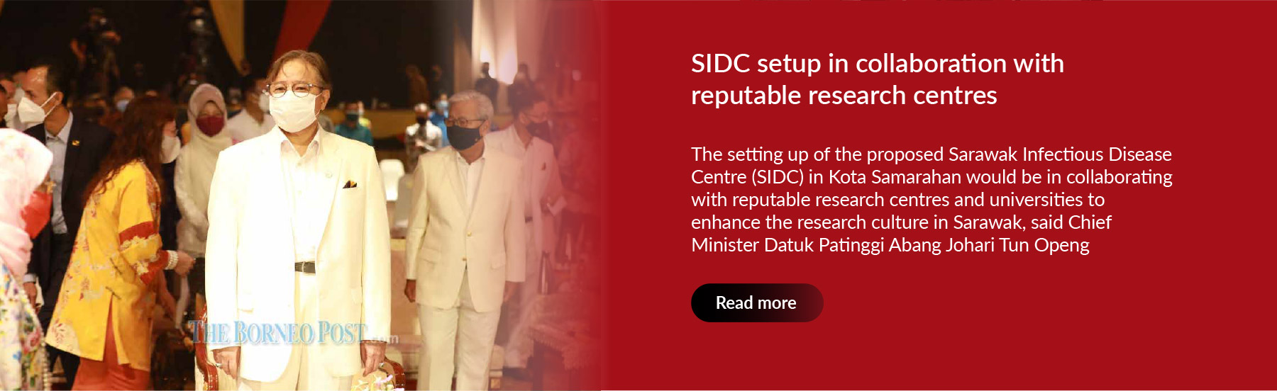 SIDC setup in collaboration with reputable research centres