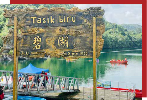 Tasik Biru Resort City coming up