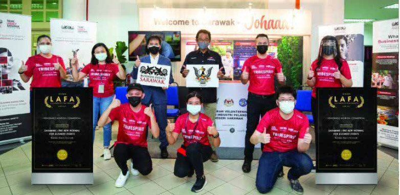 Business Events Sarawak Wins Los Angeles Film Award