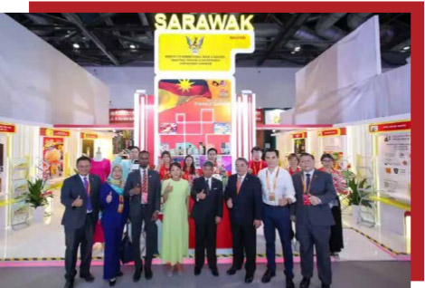 Mintred's Sarawak Pavilion attracts potential investors at China International Fair for Trade in Services