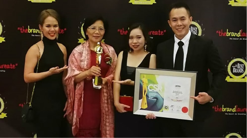 Sarawak wins at the prestigious Brandlaureate